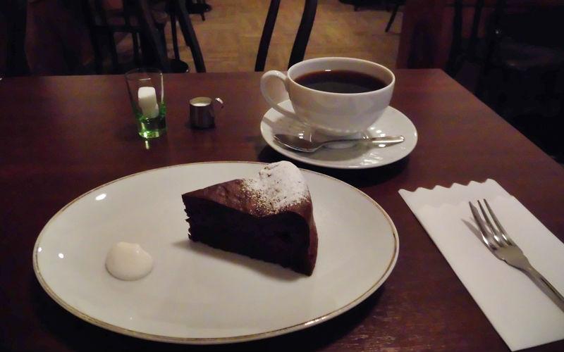 フランボワーズのガトーショコラ