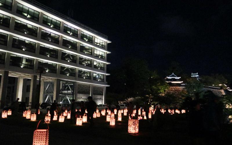 県庁とお城