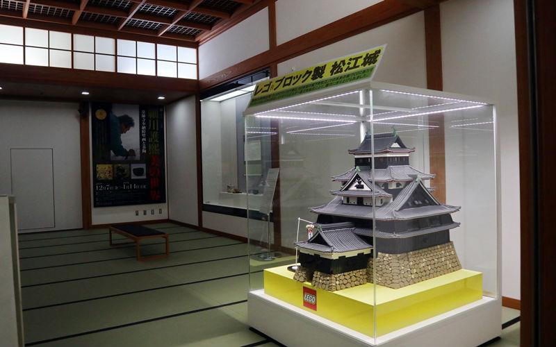 レゴでできた松江城