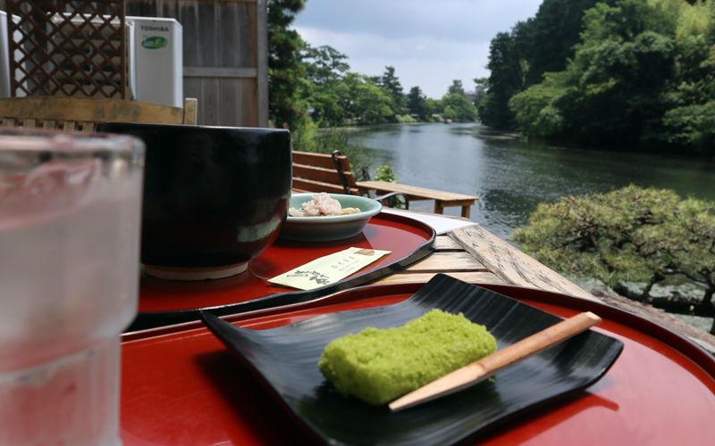 ぼてぼて茶と和菓子