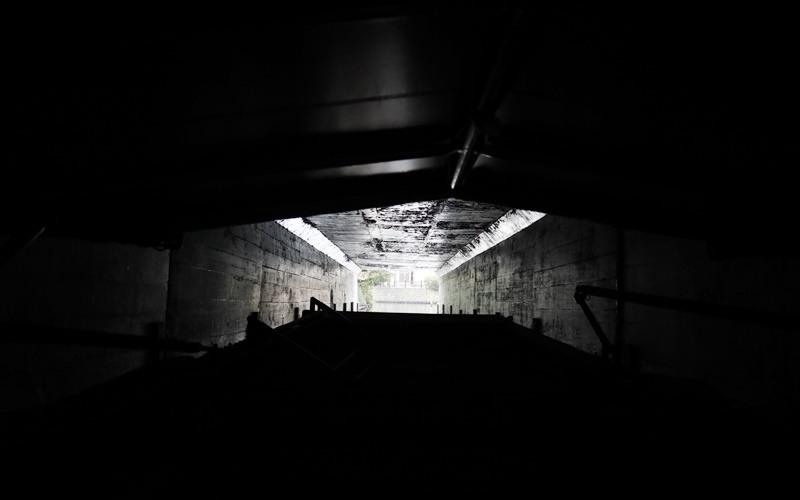 うべや橋の下