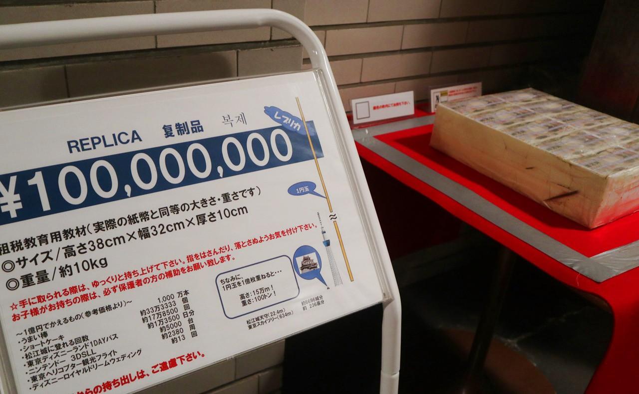 1億円のレプリカ